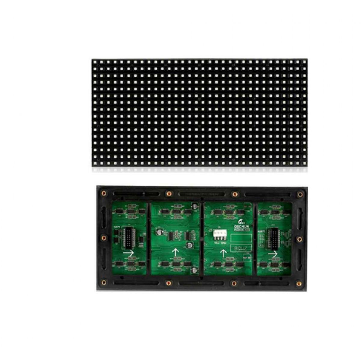 户外表贴全彩Q6-E单板分辨率32*32单板尺寸192*192扫描方式1/8