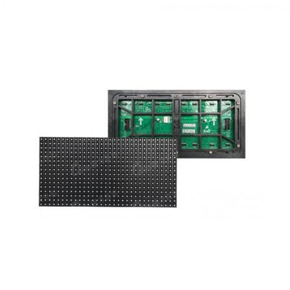 户外直插P10单红单板分辨率32*16单板尺寸320*160扫描方式1/4