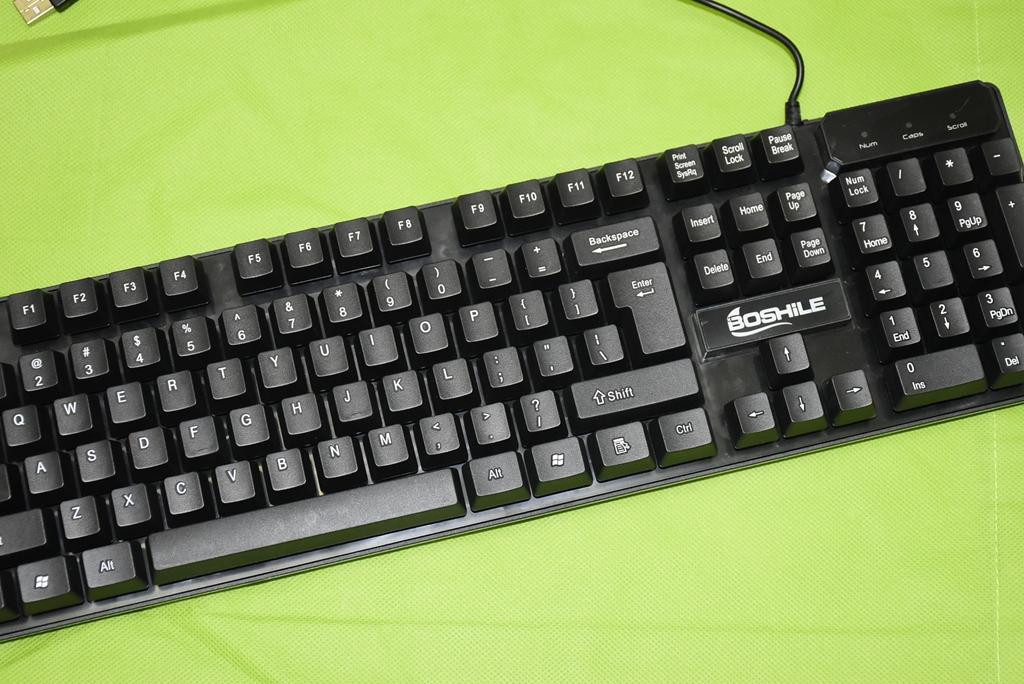 紫光M903 电脑usb键盘  高键帽按键 单键盘