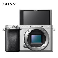 索尼(SONY)Alpha 6100 APS-C画幅微单数码相机 单机身 银色 (ILCE-6100/A6100)