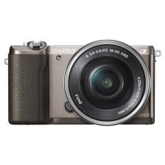 索尼(SONY)ILCE-5100L APS-C单镜头微单相机/照相机 棕色(约2430万有效像素  a5100L/α5100L)