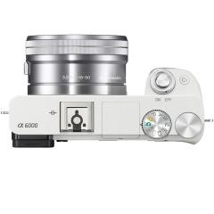 索尼(SONY)Alpha 6000 APS-C微单数码相机 标准套装 白色(SELP1650镜头 ILCE-6000L/A6000L/α6000)