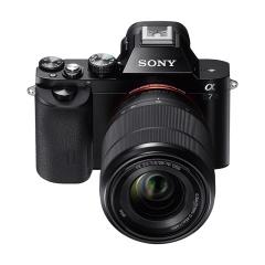 索尼(SONY)Alpha 7 全画幅微单数码相机 双镜头套装(约2430万有效像素 SEL2870+SEL50F18F a7K/ILCE-7K)
