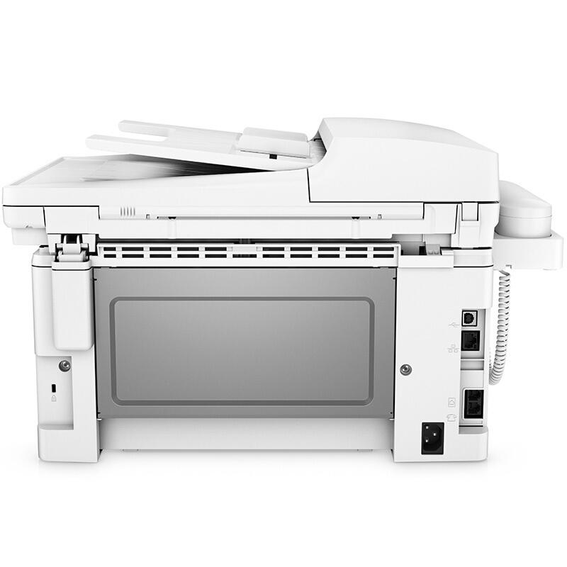 惠普1216一体机扫描_惠普(HP)MFP M132fp A4 激光打印机复印扫描传真一体机 带手柄
